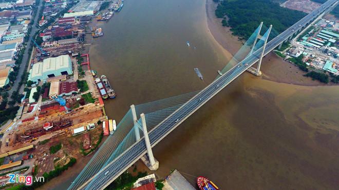 TP.HCM thu phí tự động không dừng tại cầu Phú Mỹ