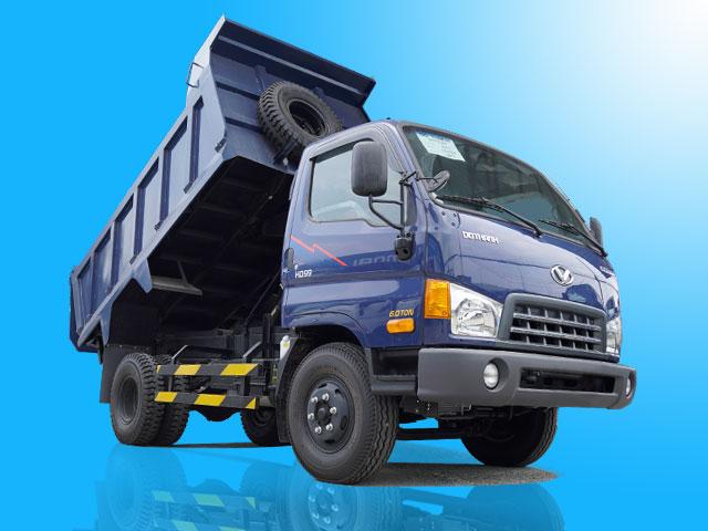 Xe ben Hyundai HD99 6 tấn 5 khối