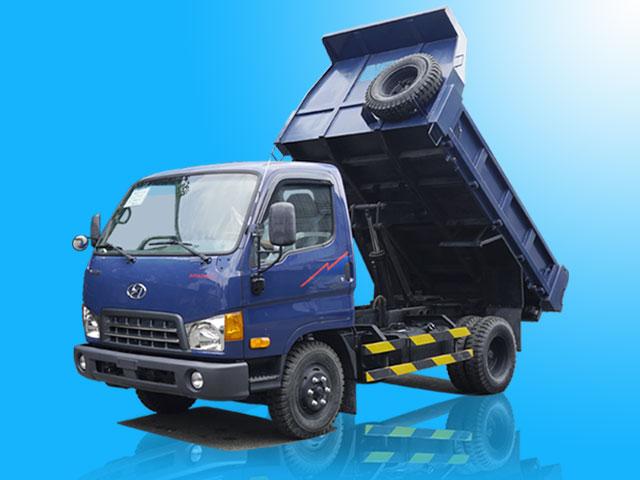 Xe ben Hyundai 1.75 tấn 2 khối - HD65