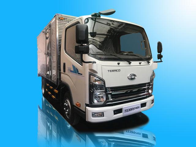 Xe tải Teraco Tera240L 2T4 thùng kín